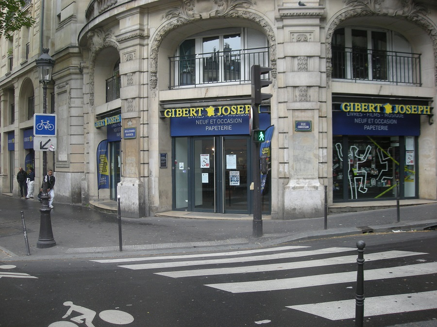 gibert-joseph-paris-xviii